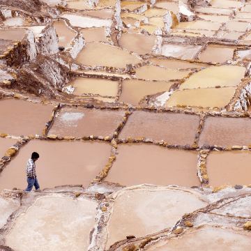 Moray Terraces Cosmic Origin Cusco Perú.