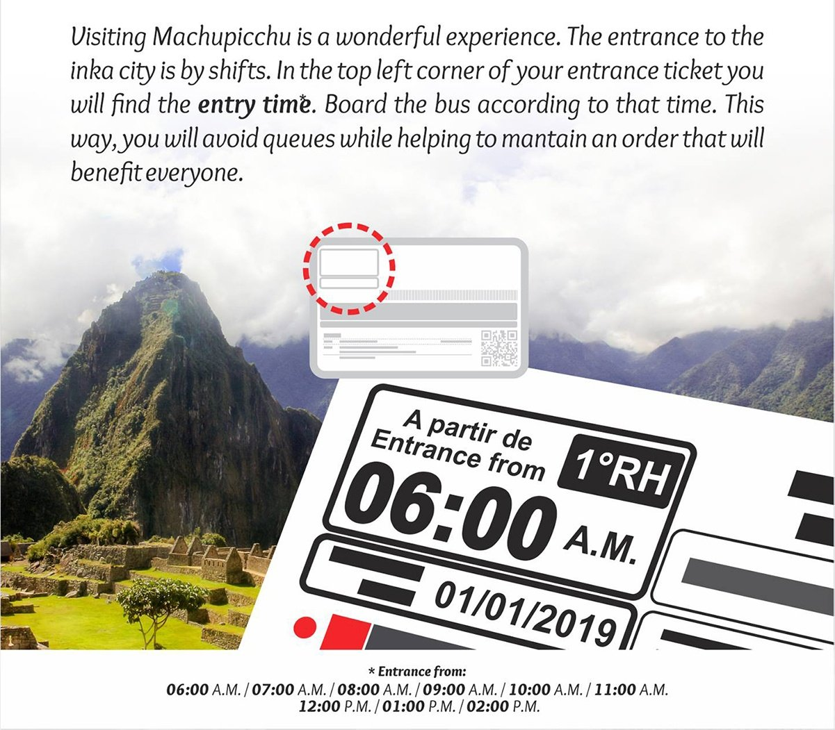Macu Picchu Tickets and new regulation