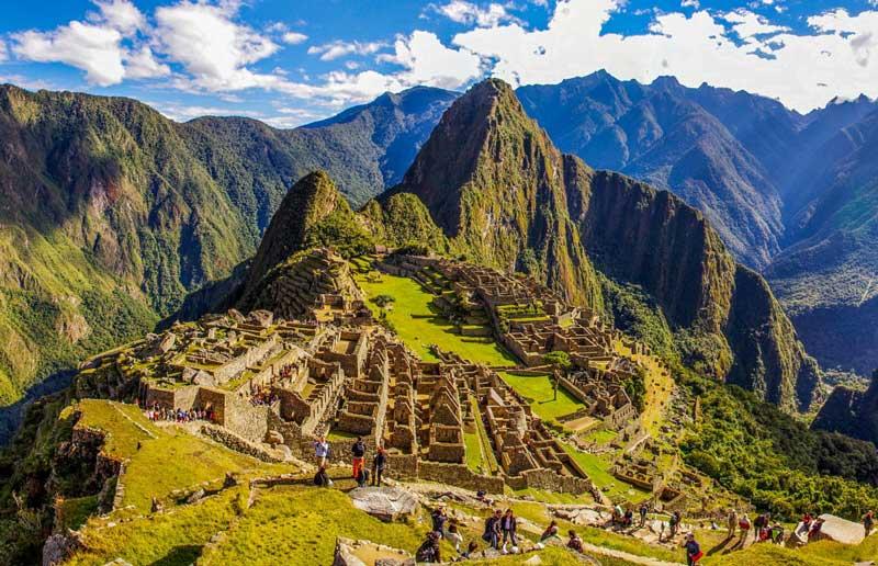 Machu Picchu Altidude