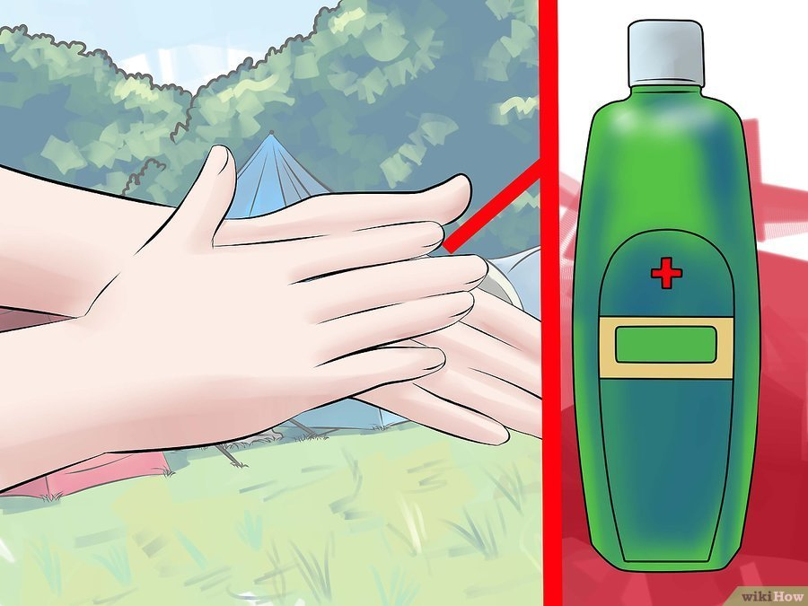 How To Use The Bathroom While Camping in Peru