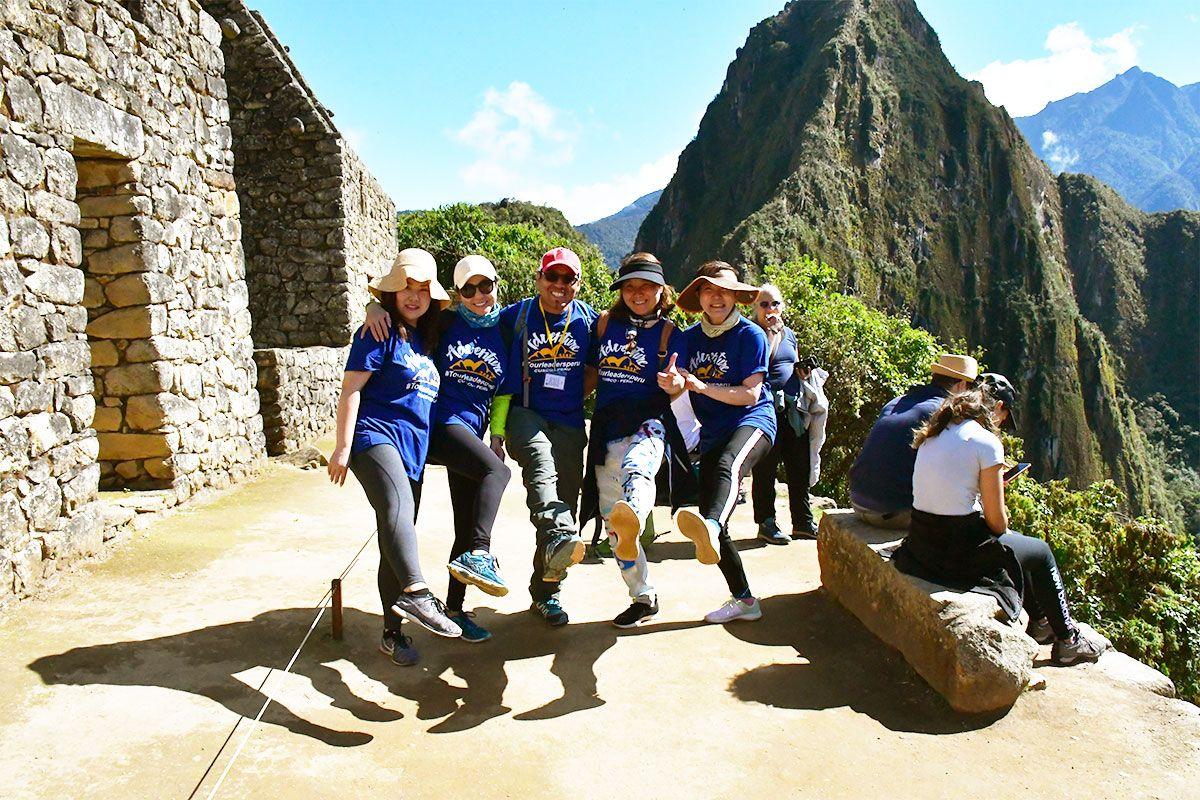 Beautiful Day in Machu Pichcu