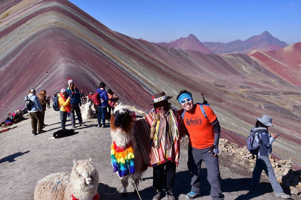 Rainbow Mountain in Peru - Cusco