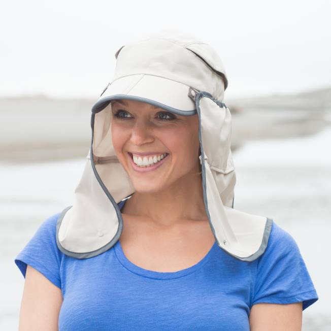 Peru Packing List hat with neck covert