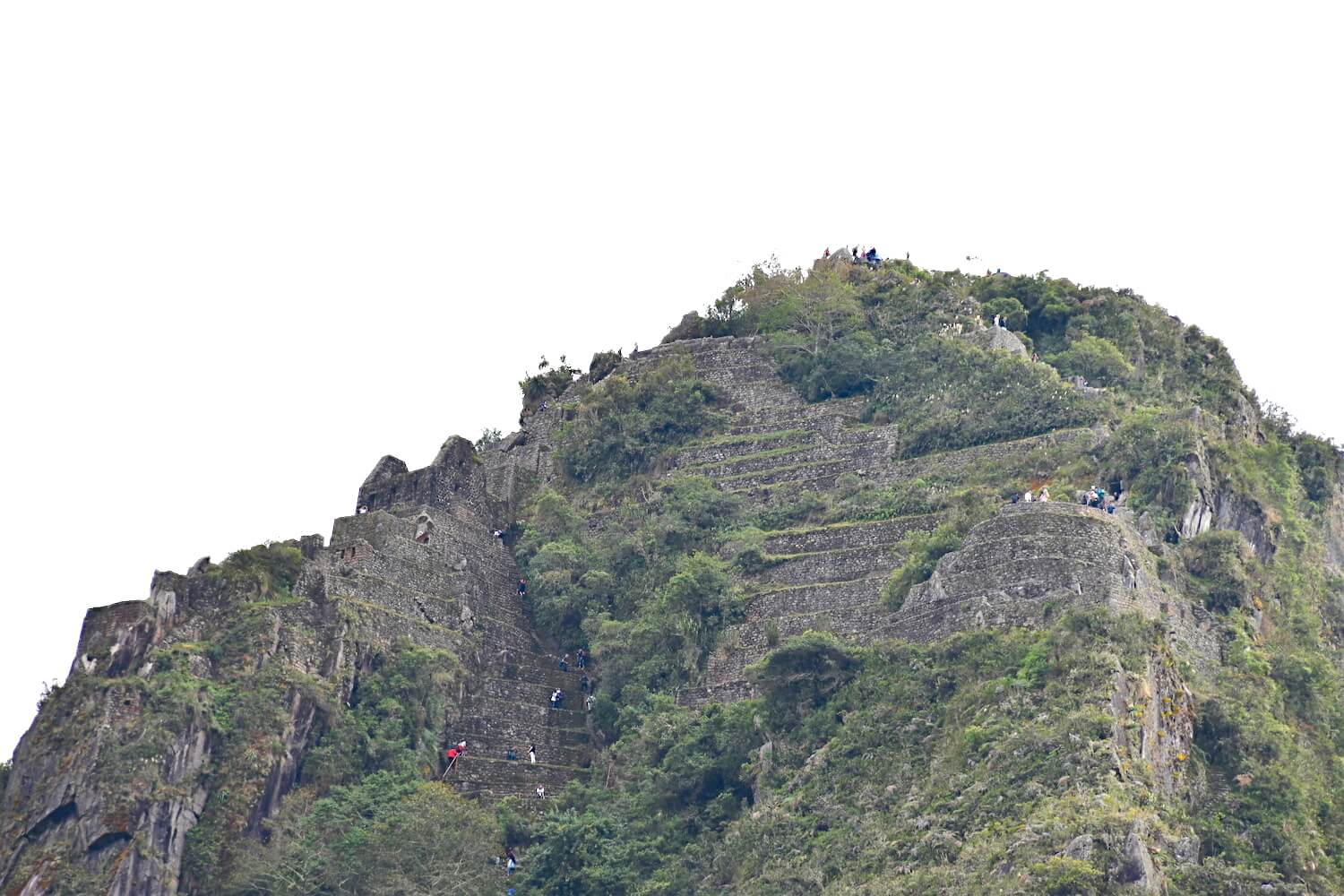 The difficulty of MACHU PICCHU mountain and HUAYNA PICCHU Hike
