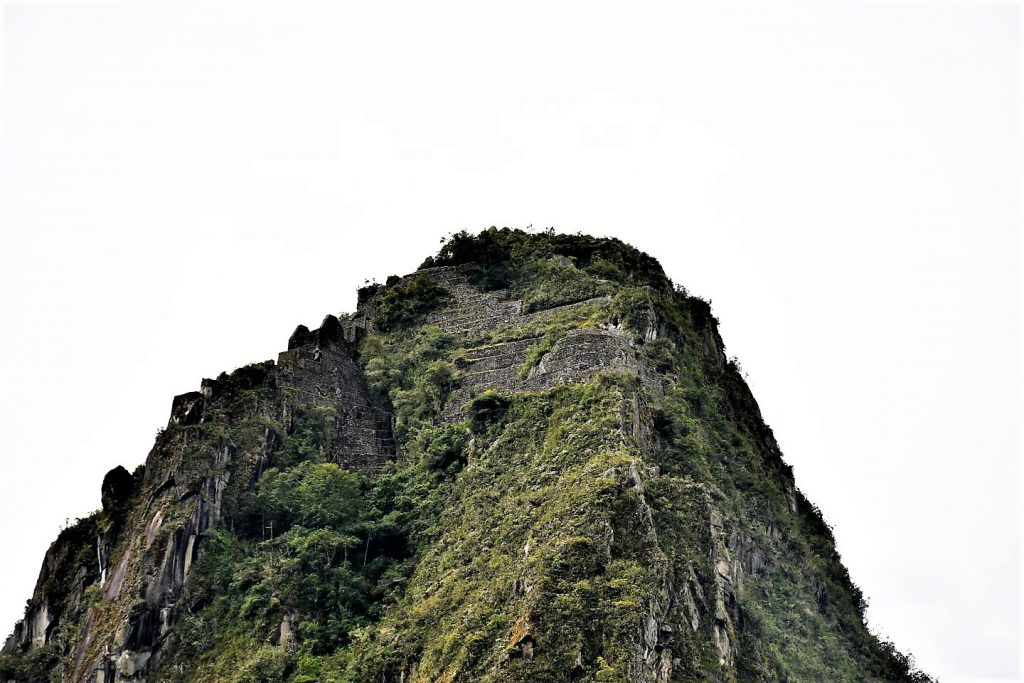 Hiking Huayna Picchu Mountain after thr inca trail to Machu Picchu