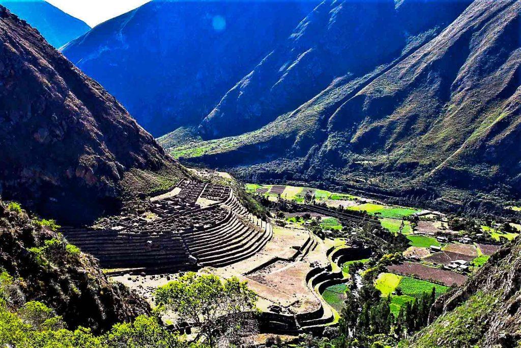 Llactapata Inca trail
