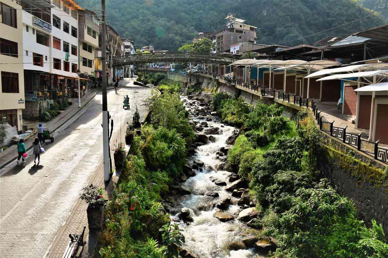 Aguas Calintes Machu Picchu