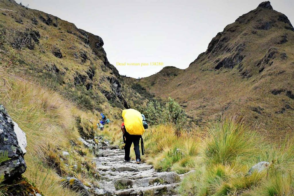 Dead Woman Pass Inka Trail