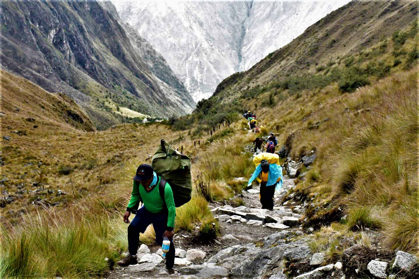 Why the Inca Trail Porters are very important in Peru