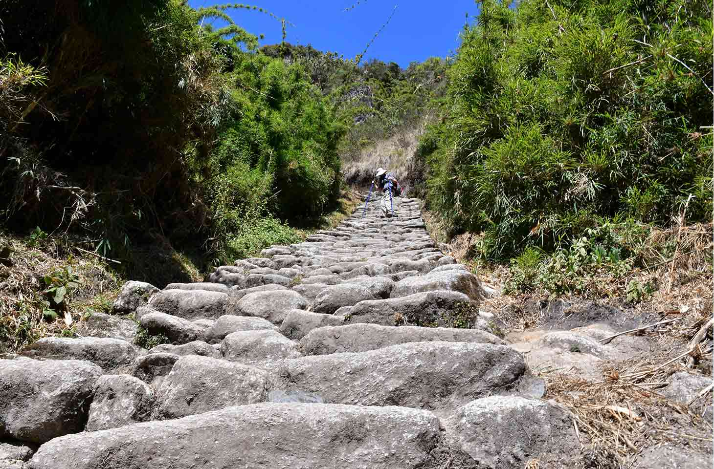 Inca Trail Map / How nay stairs are?