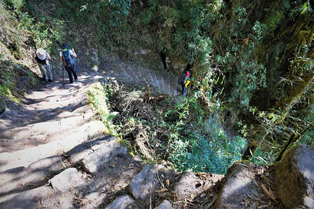 Day 3 on Inca Trail