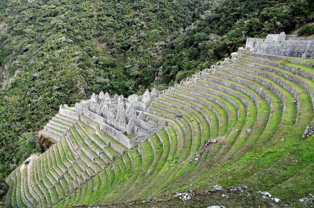 Winayhuayna Beautiful Inca city