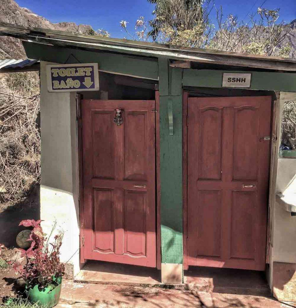 Inca Trail  Bathroom or Toilets