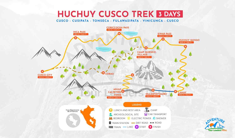 Huchuy QosqoTrek to Machu Picchu