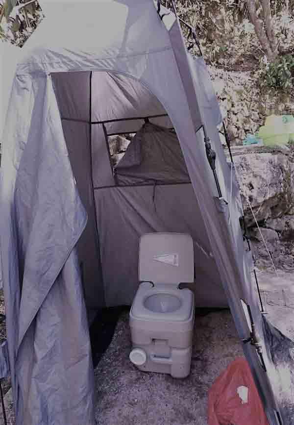 Biodegradable Ecologic Toilet Inca Trail