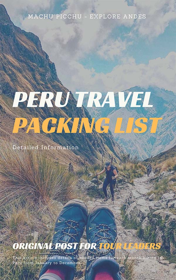 Peru-Checklist